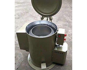 Economic centrifugal spin dryer