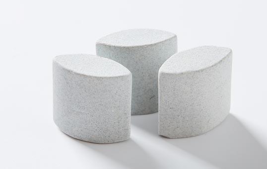 Ceramic media ellipse