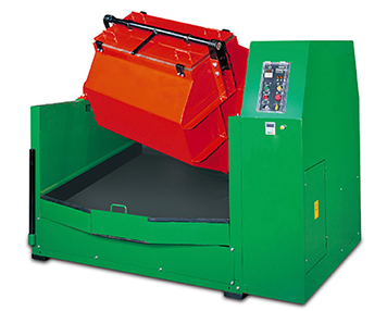 Tilt Barrel Rotary tumbling machine