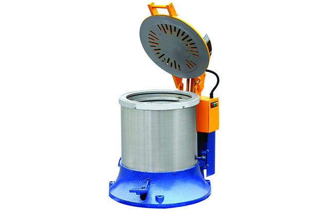 Centrifugal spin dryer open cover