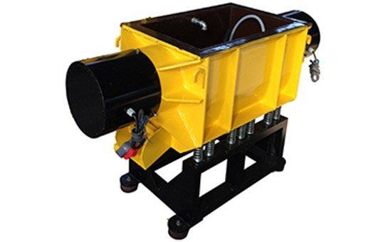 100 liter Trough vibratory finishing machine