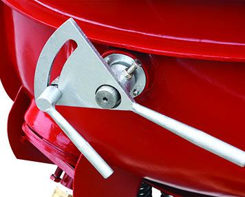Manual separation handle