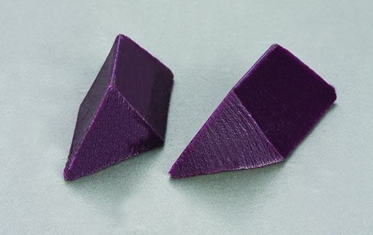 Plastic media triangle