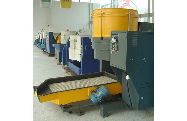 LDG230B Centrifugal disc finishing machine deburring machine polishing machine buffing machine