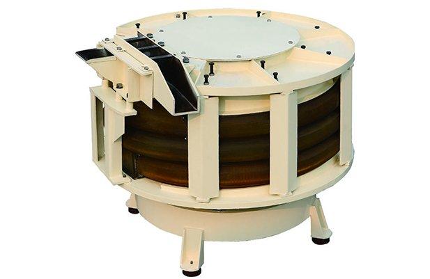 LZG170 Spiral tube vibratory finishing machine