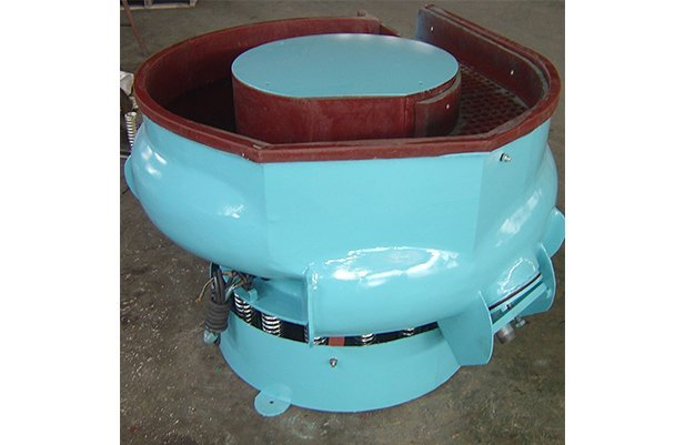LZG(A)200 curved bowl with separating unit vibratory finishing machine