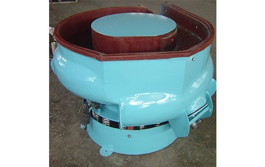 LZG(A)200 curved bowl with separating unit vibratory finishing machine