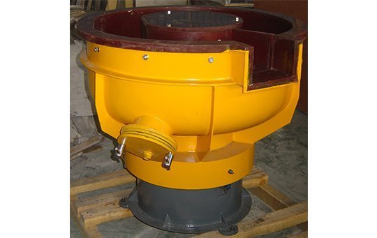 LZG(B)100 U shape bowl with separating unit vibratory machine