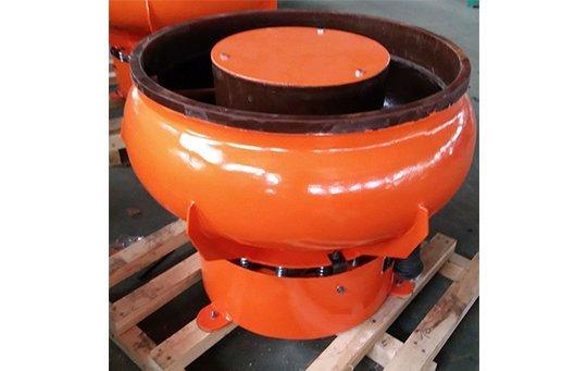 PZG(A)100 vibratory finishing machine with Straight wall bowl