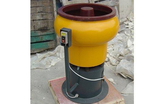 PZG(A)30 vibratory finishing machine with Straight wall bowl