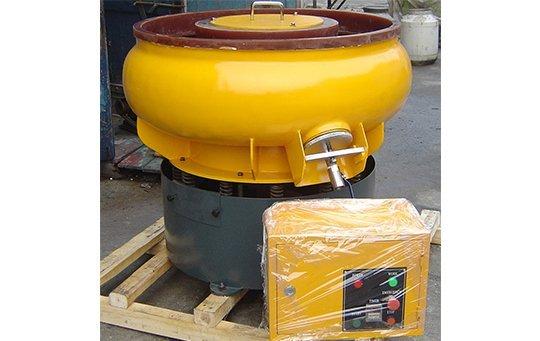 PZG(A)300 vibratory finishing machine with Straight wall bowl
