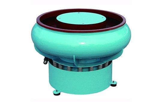 PZG(A)600 vibratory finishing machine with Straight wall bowl