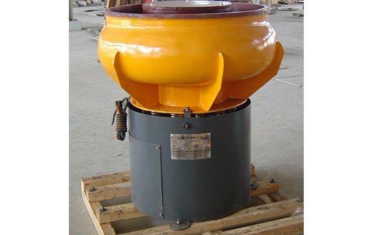 PZG(A)80 vibratory finishing machine with Straight wall bowl