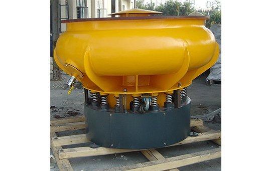 PZG(A)900 vibratory finishing machine with Straight wall bowl polishing machine