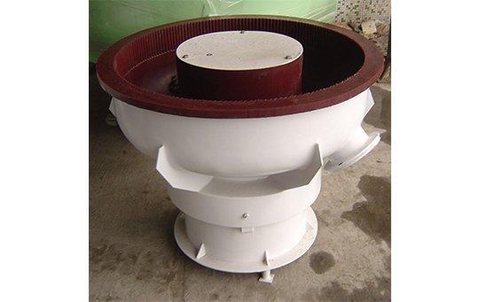 PZG(B)100 vibratory finishing machine with Straight wall bowl