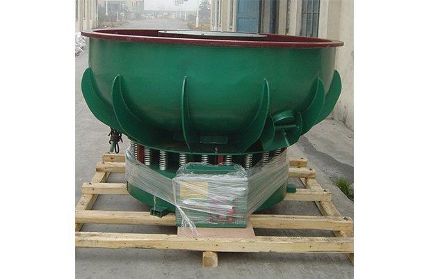 PZG(B)1200 vibratory finishing machine with Straight wall bowl