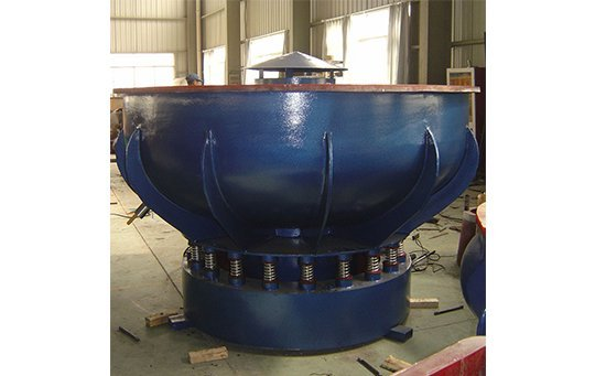 PZG(B)1500 vibratory finishing machine with Straight wall bowl