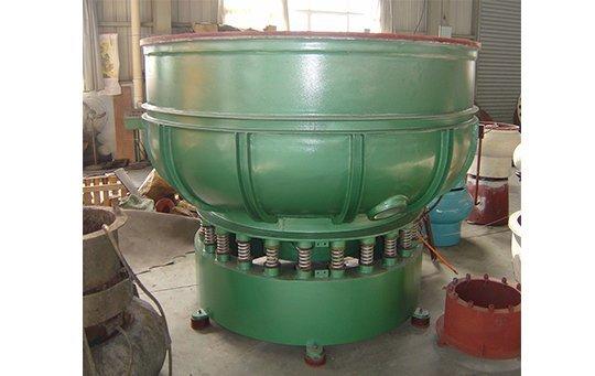 PZG(B)2500 vibratory finishing machine with Straight wall bowl