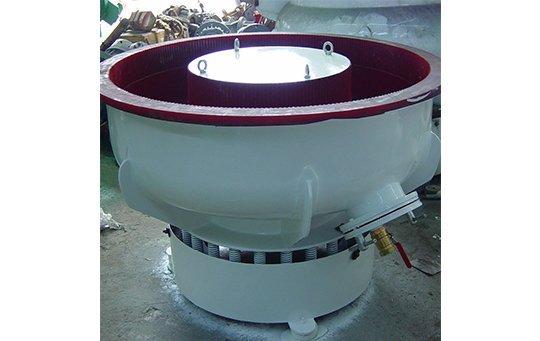 PZG(B)300 vibratory finishing machine with Straight wall bowl