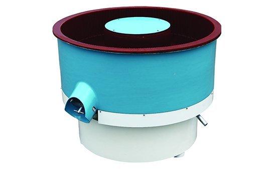 PZG(B)400 vibratory finishing machine with Straight wall bowl