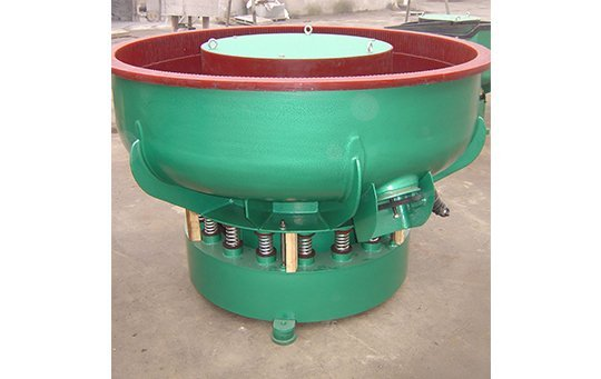 PZG(B)600 vibratory finishing machine with Straight wall bowl