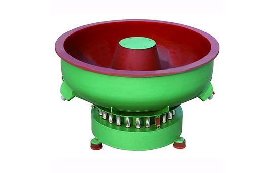 PZG(C)800 straight wall vibratory finishing machine with big chamber design