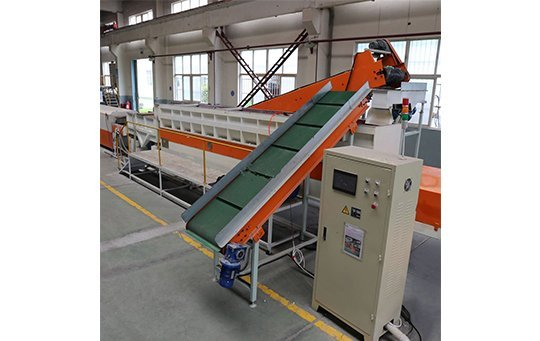 Linnear vibratory continuous finishing system (German Design) polishing machine buffing machine