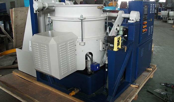 centrifugal disc finishing machine profile