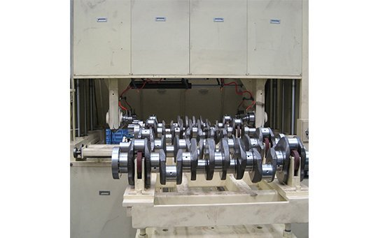 Horitonal Type Shaft crankshaft Polishing Machine