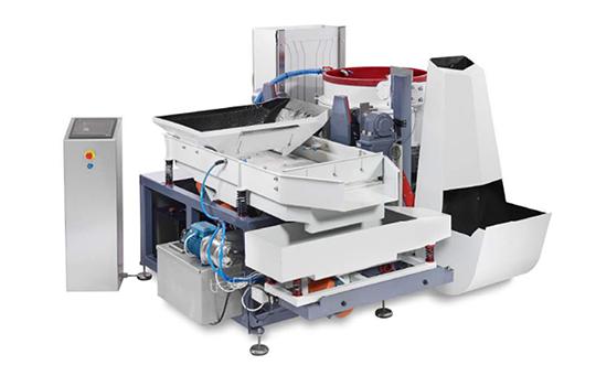 Single Disc Automatic Centrifugal Disc Finishing Machine deburring machine polishing machine buffing machine