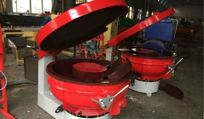 vibratory finishing machines with sound cover