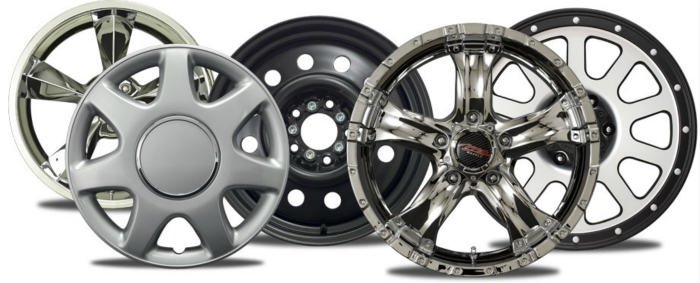 aluminum wheel, rims, hubscaps for polishing