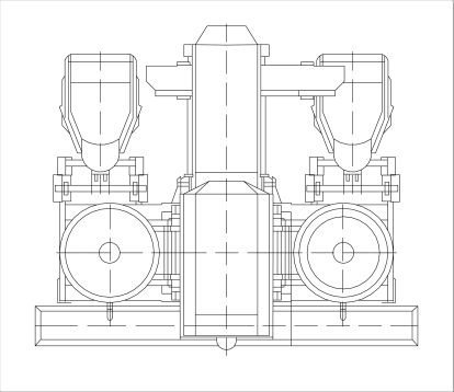 automatic-centrifugal-disc-finishing-machine-drawing