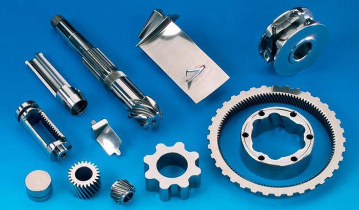 automotive parts surface finishing