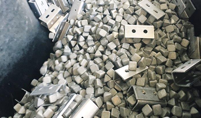 ceramic media edge rouding