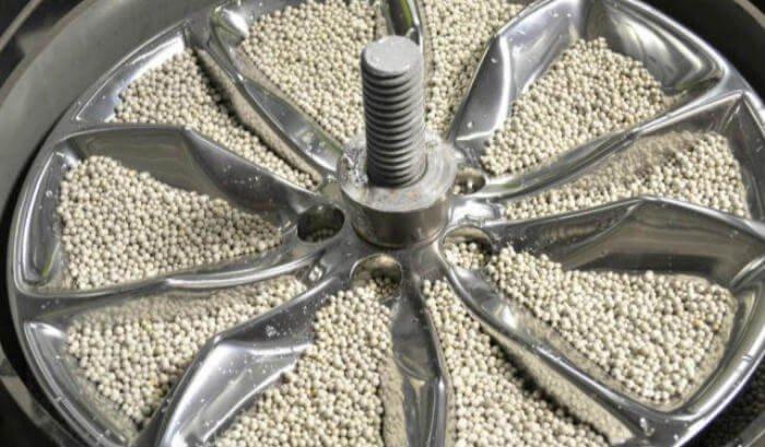 polishing media for wheel polishing machine