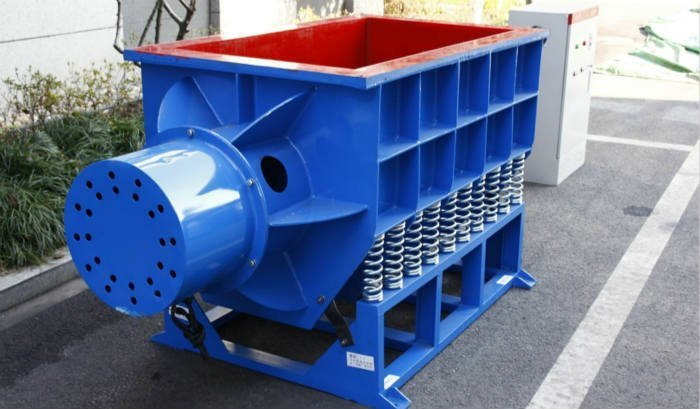 trough tub vibratory finishing machine for steel pipe deburring polishing