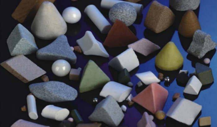 tumbler media stone Mass Finishing Vibratory Media