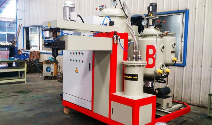 automatic PU casting machine