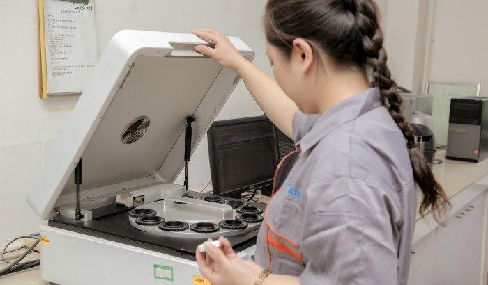 ceramic media raw material testing