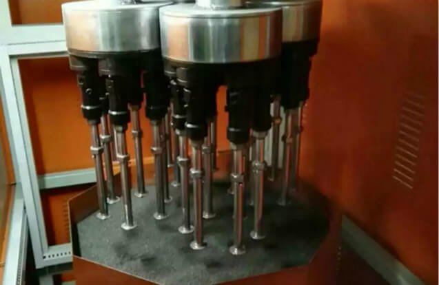 drag finishing machine fixture for tools