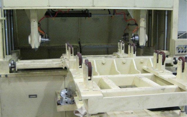 Crankshaft Polishing machine automatic