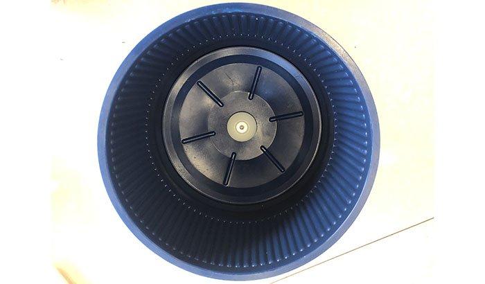 Eco Maxi Centrifugal disc finishing machine wet barrels
