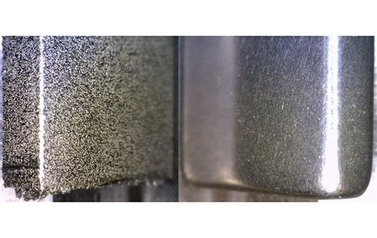 Post Process 3D Metal to Best Surface 3D Aerospace Test Coupon
