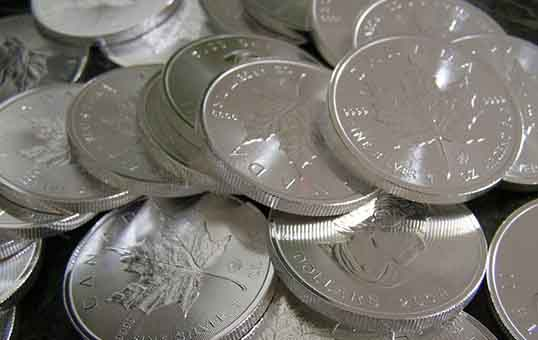 Silver coin polishing