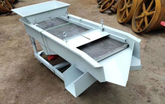 Vibratory Sieve machine double layer design