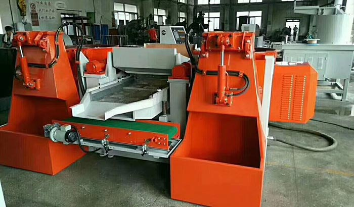 automatic centrifugal disc finishing machine