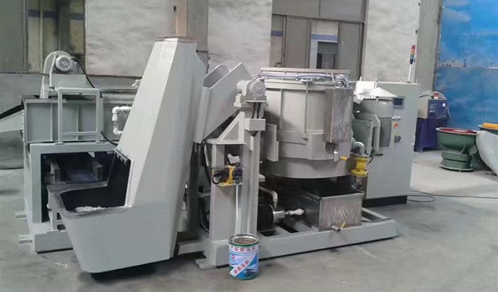 automatic fully centrifugal disc finishing machine