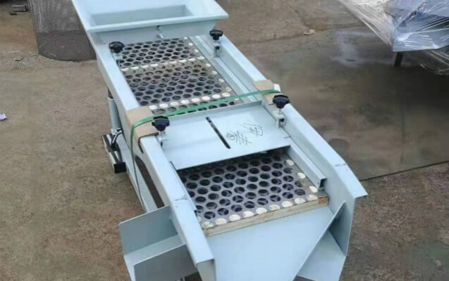double layer vibartory sieve machine