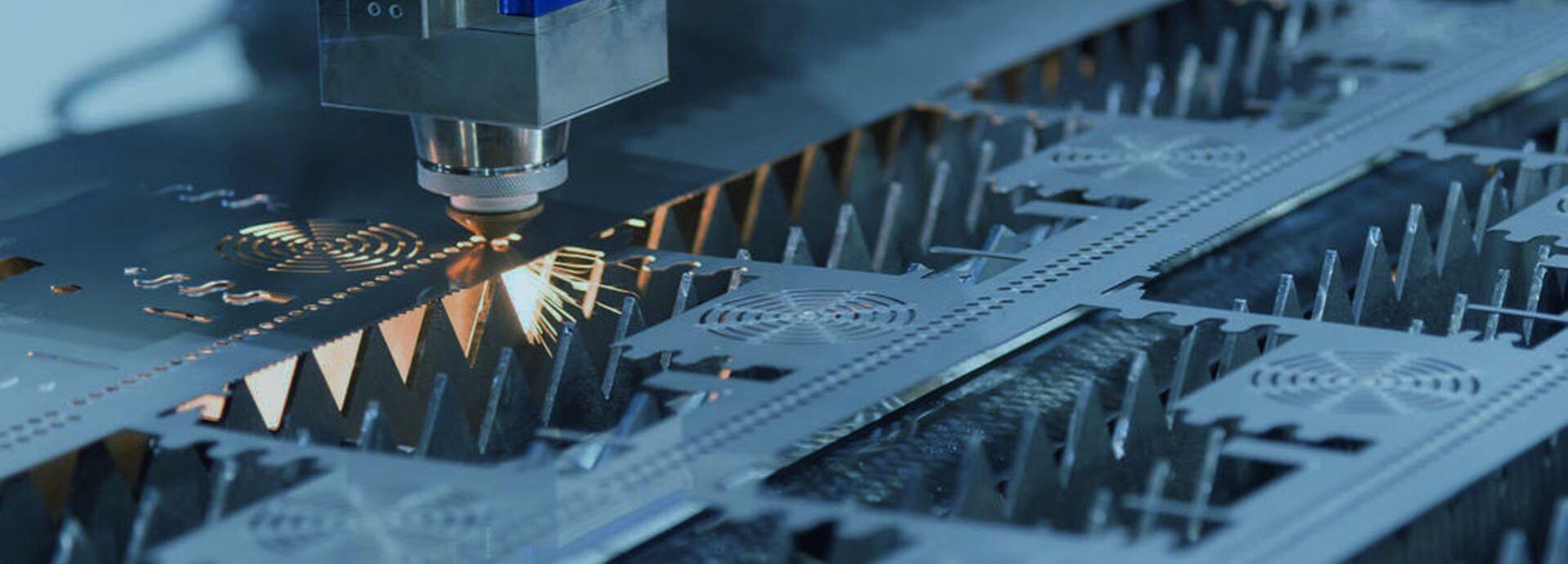laser cutting machine parts deburring